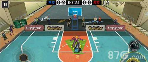 街头篮球手游防守技巧盯防