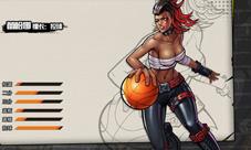 街头篮球手游PG控球后卫高清人物图 PG控球后卫人设