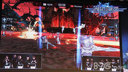剑与魔法现场精彩战斗画面