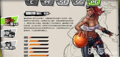 街头篮球手游PG