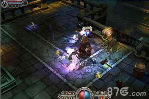 火炬之光移动版游戏截图2