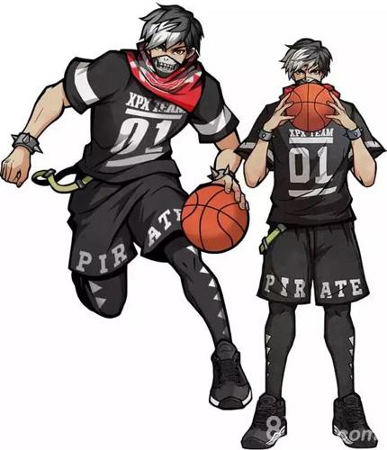 街头篮球手游李心木