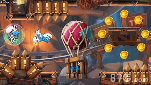 藍精靈:縱情快跑截圖3