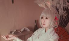 阴阳师山兔cosplay图片 好萌的山兔好想带他回家