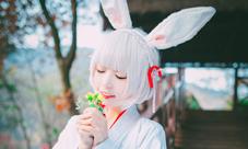 阴阳师山兔全彩COS本子合集 山兔COS妆容美腻图片