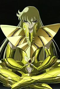 圣斗士星矢沙加图片壁纸  信佛的男人最帅了