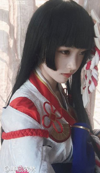 阴阳师cos雪女大尺度 雪女cosplay图片