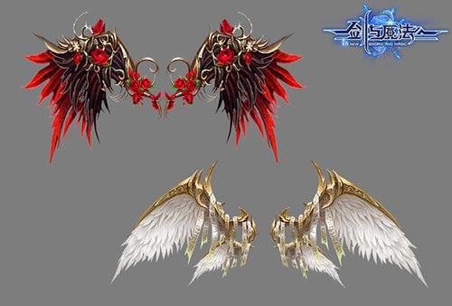 剑与魔法新羽翼造型