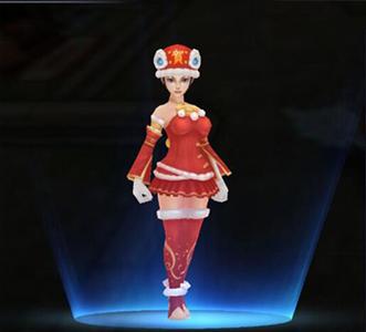驯龙战记新年版本之女装