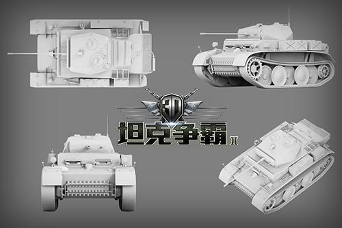 3D坦克争霸2坦克模型1