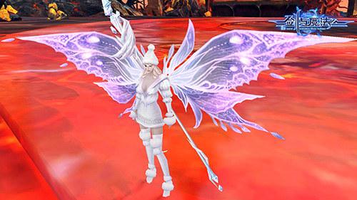 剑与魔法白色魔翼