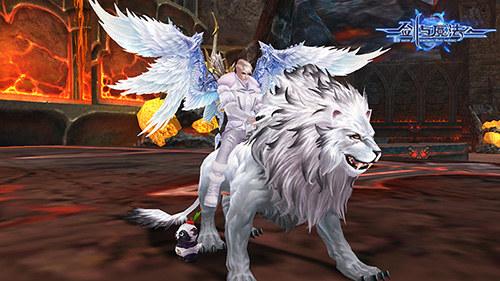 剑与魔法白狮坐骑