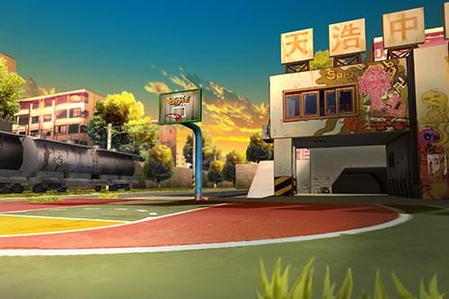 街头篮球手游场景截图