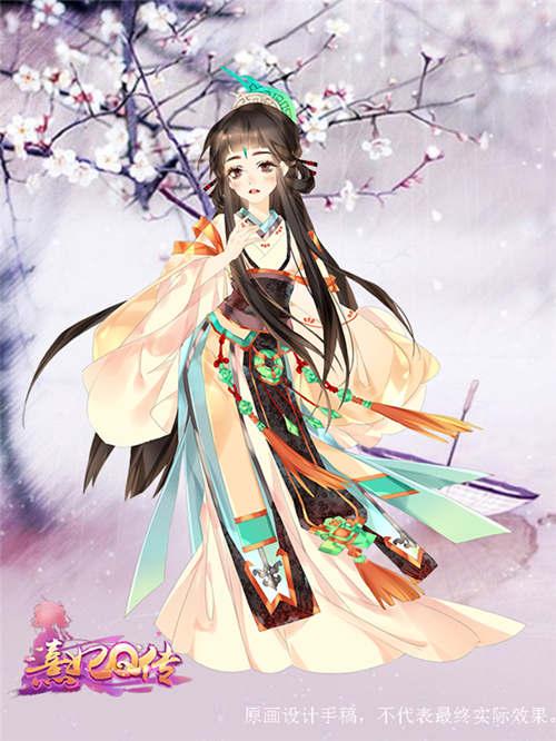 古装美女手绘宫妃
