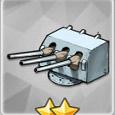 三联装102mm副炮