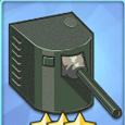 140mm單裝炮