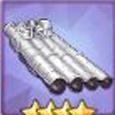 四聯裝533mm魚雷