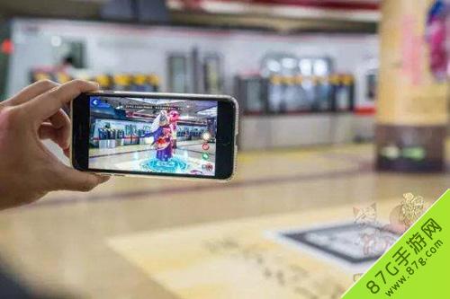 阴阳师北京地铁站国贸站化身式神长廊10