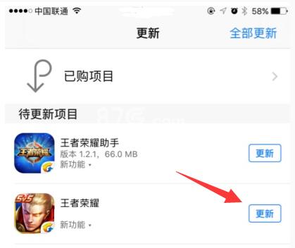 王者荣耀iOS更新不了
