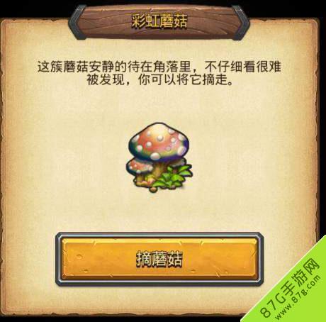 不思议迷宫彩虹蘑菇