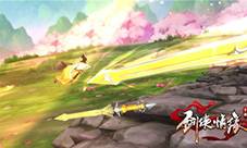 剑侠情缘手游新门派美图 长歌藏剑高清线上娱乐壁纸