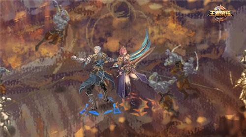 《王者荣耀》花木兰与铠