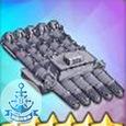五聯裝533mm磁性魚雷T3