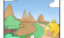 欢乐球吃球同人漫画 欢乐球吃球四格漫画