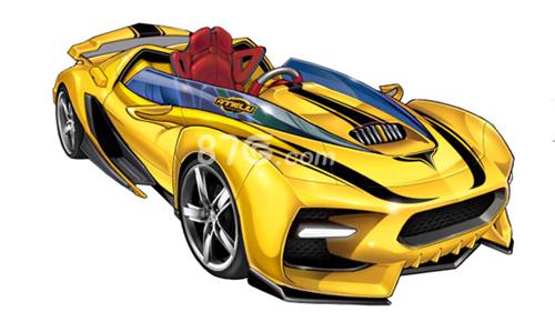 大黄蜂跑车怎么画-跑车怎么画简笔画图片,大黄蜂的画法,简单的大黄蜂