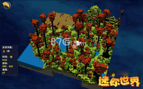 迷你世界红树林地图图片