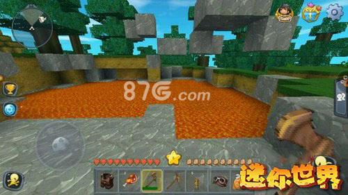 迷你世界岩浆地图图片3