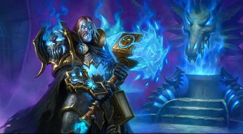 炉石传说圣骑士英雄卡原画