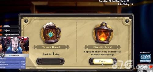 炉石传说乱斗模式选择