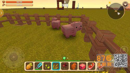 迷你世界猪是一个好吃懒做的一个动物,拥有十分笨拙的身体,那么 迷你