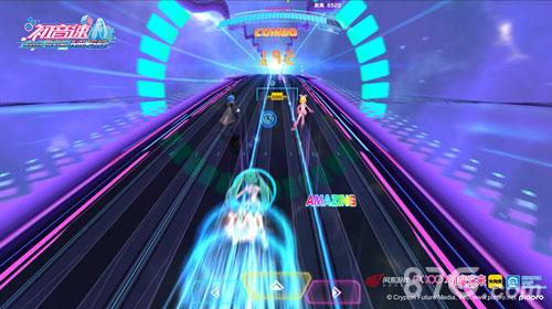 图7:《初音速》游戏截图