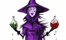 狼人杀女巫图片大全 女巫牌头像图片透明欣赏