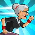 憤怒的老奶奶玩酷跑