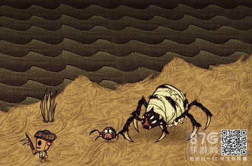 饥荒蜘蛛女王掉什么图片