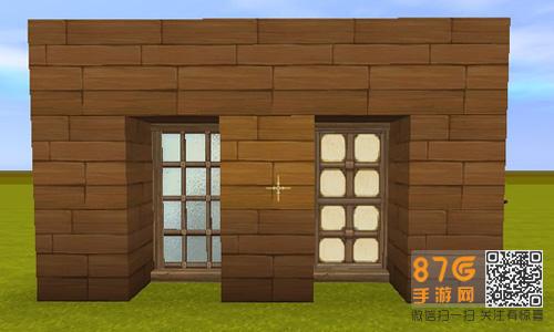木棍制作房屋模型
