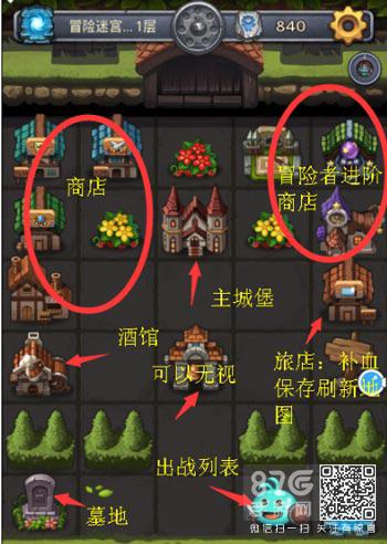 不思议迷宫冒险迷宫村攻略图2
