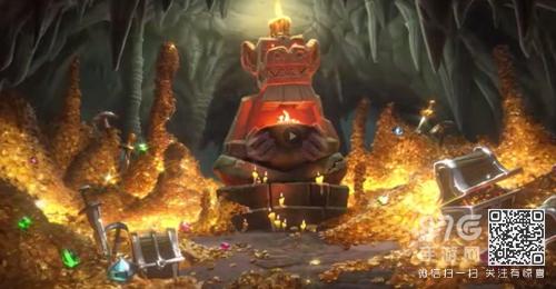 炉石传说狗头人与地下世界宣传片 新版本cg视频