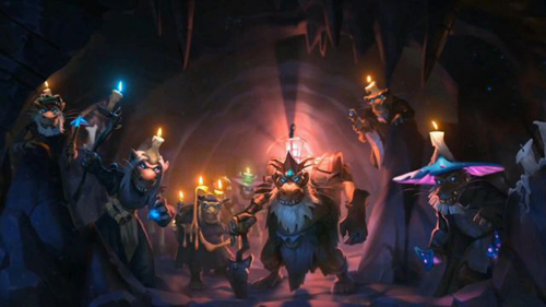 炉石传说狗头人与地下世界宣传图4