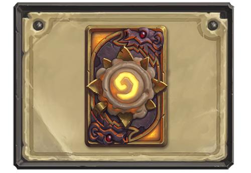 炉石传说蜡烛之王卡背
