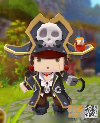 迷你世界黑帽子船长蒂奇获取