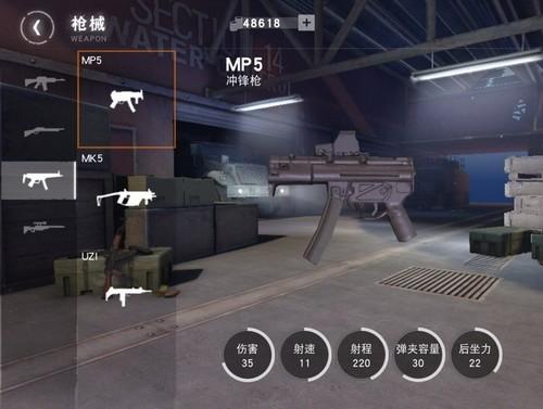 荒野行动冲锋枪2
