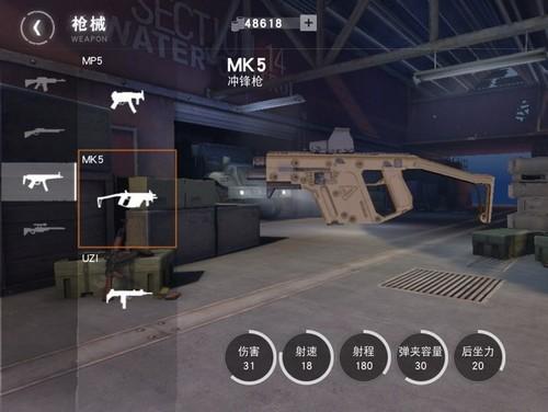 荒野行动冲锋枪3