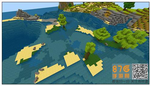 迷你世界丰富地貌地图3