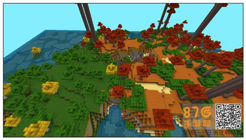 迷你世界丰富地貌地图6