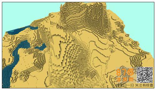 迷你世界丰富地貌地图7