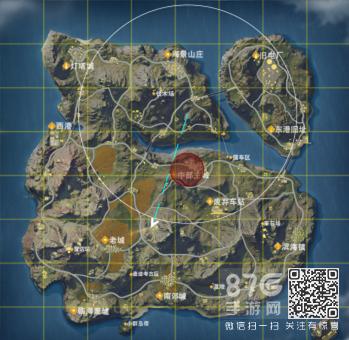 荒野行动红圈